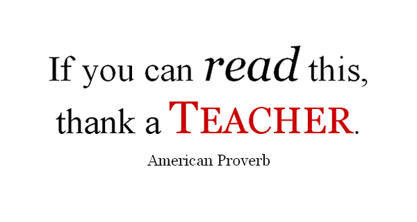 thank teacher proverb